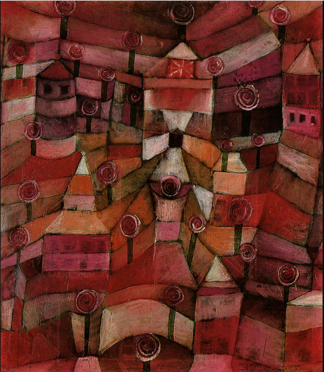 Paul Klee Jardin de Rosas