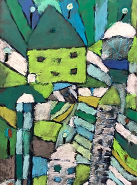 Paul Klee El Jardin de Rosas