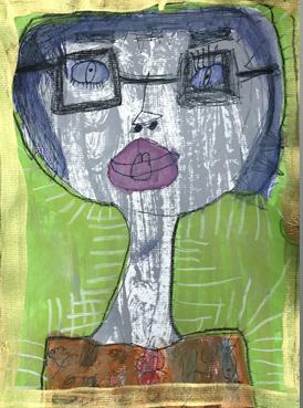 Wide-Eyed Self Portraits