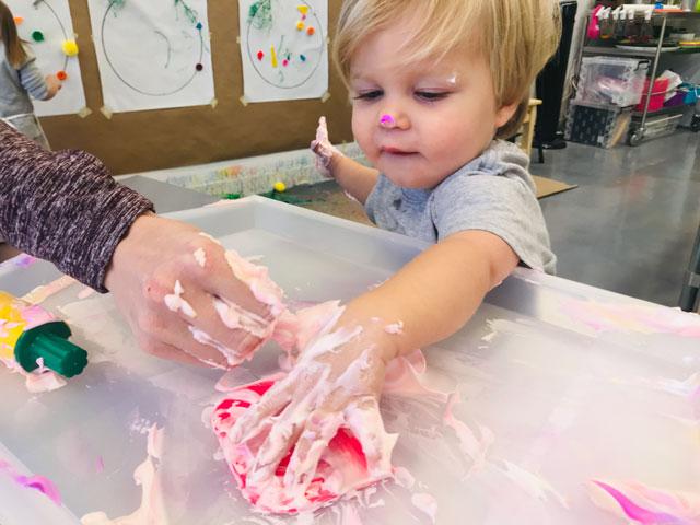 Toddler Art Class Small Hands Big Art