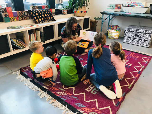 Storytime and Art class Fort Mill SC