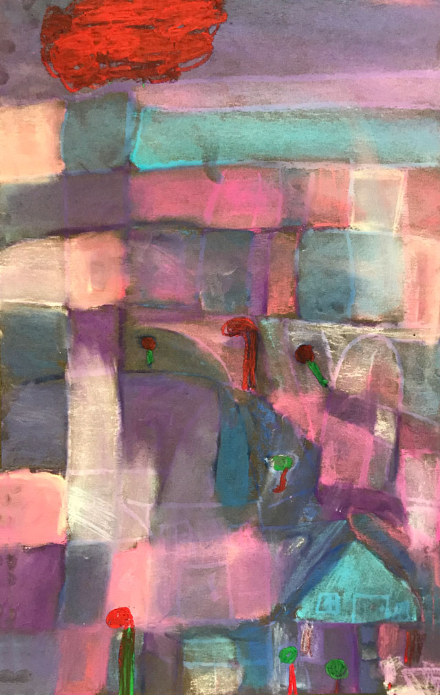 Paul Klee inspired // www.smallhandsbigart.com