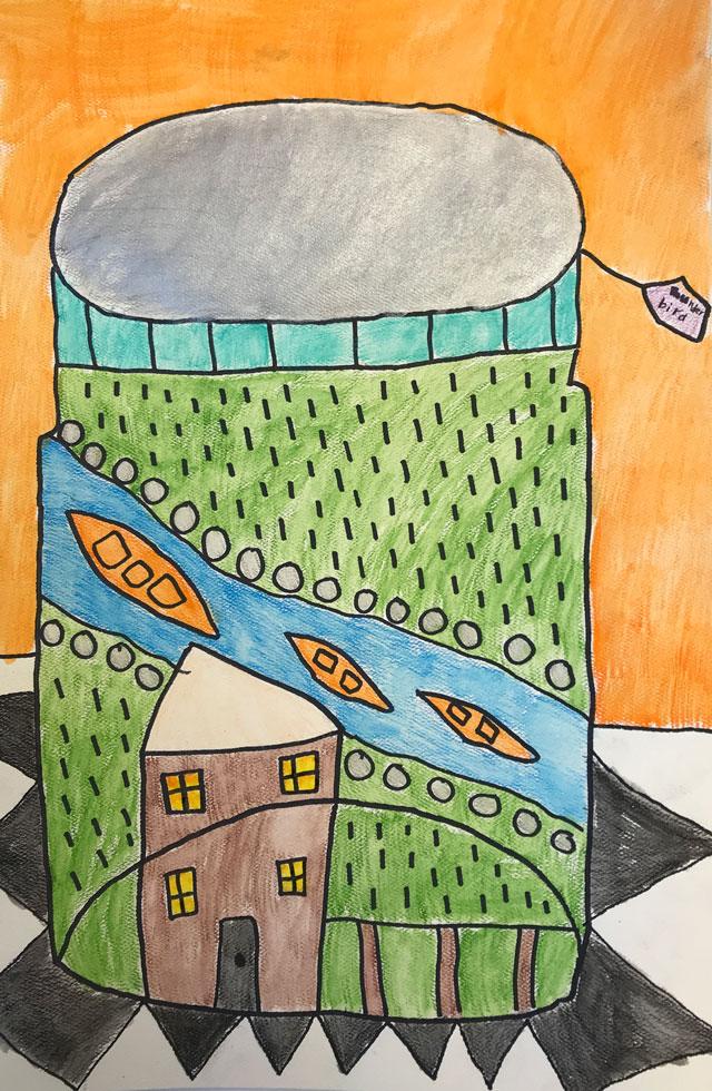 Memory Jar // www.smallhandsbigart.com
