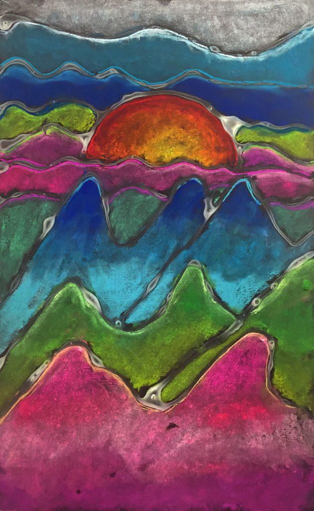Chalk Landscapes | small hands big art