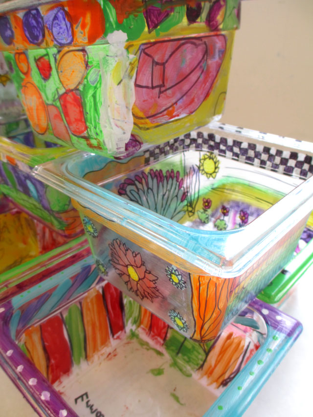 upcycle container | www.smallhandsbigart.com