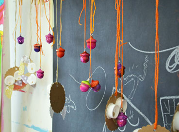 Wooden Acorn Craft Inspiration | www.smallhandsbigart.com/blog