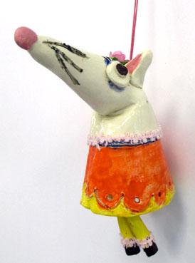 Elya Yalonetski Inspired Ceramic Bandicoots | www.smallhandsbigart.com/blog