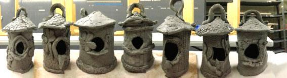 birdhouses | www.smallhandsbigart.com/blog