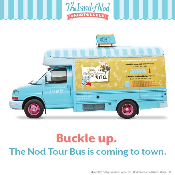 Nod Tour Bus at small hands big art