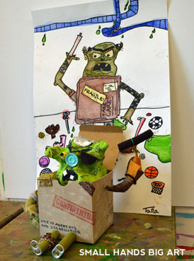 The BoxTrolls | www.smallhandsbigart.com/blog