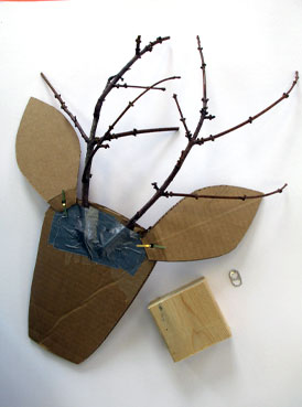 Reindeer | www.smallhandsbigart.com/blog
