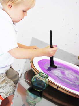 Watercolor Art Project for Kids