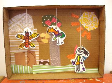 diorama | www.smallhandsbigart.com/blog