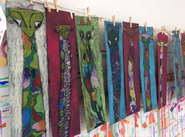 Giraffes | www.smallhandsbigart.com/blog