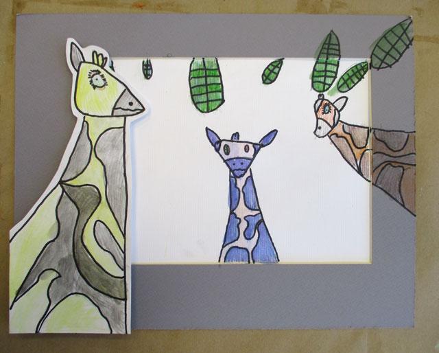 3D Giraffe // www.smallhandsbigart.com