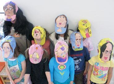 Hat Art Project for Kids| www.smallhandsbigart.com/blog