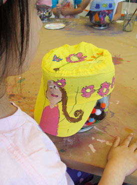 Hat Art Project for Kids