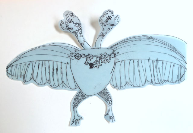 Mechanical Creatures | www.smallhandsbigart.com