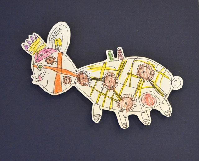 Mechanical Creature / www.smallhandsbigart.com