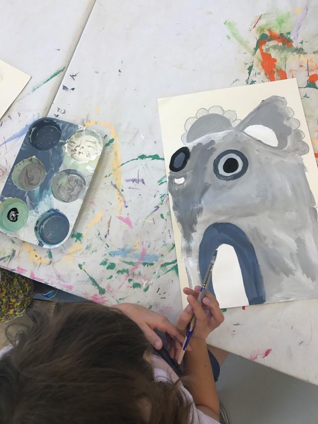 Pete Cromer Inspired Koalas // www.smallhandsbigart.com