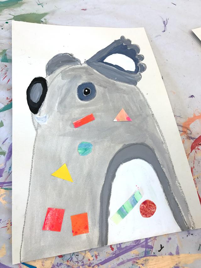 Pete Cromer Inspired Koalas// www.smallhandsbigart.com