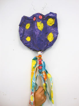 papier mache | www.smallhandsbigart.com/blog