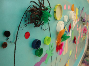 Toddler Art Project from Small Hands Big Art