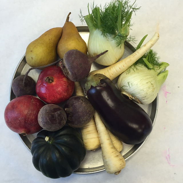 Winter Vegetables | small hands big art