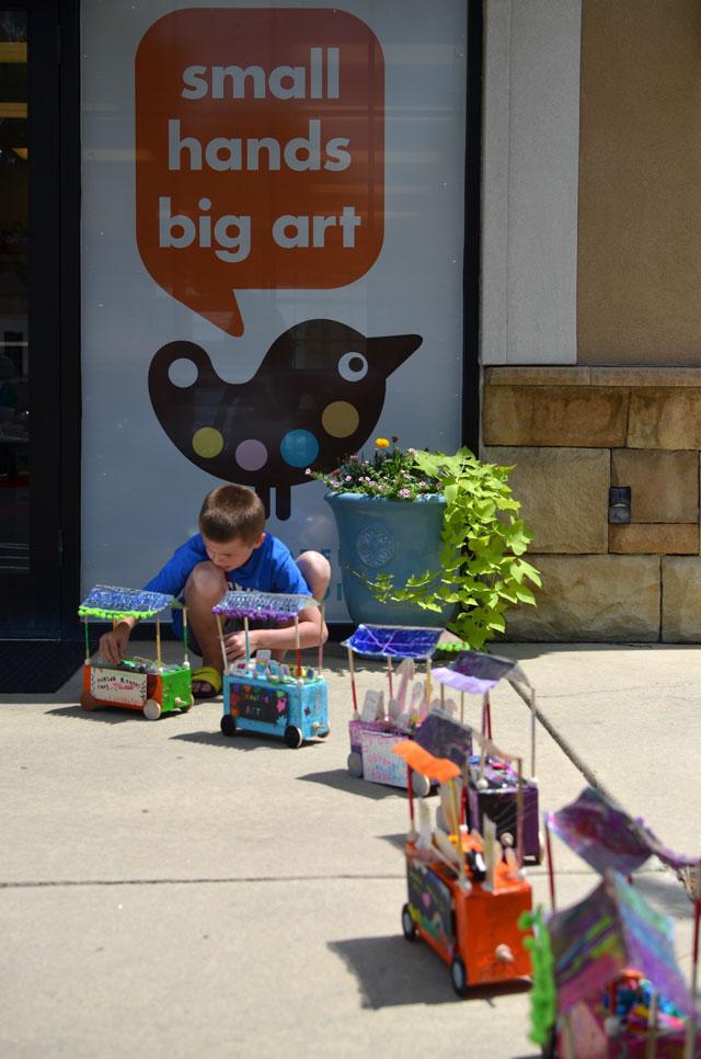Flea Market Cart // Small Hands Big Art