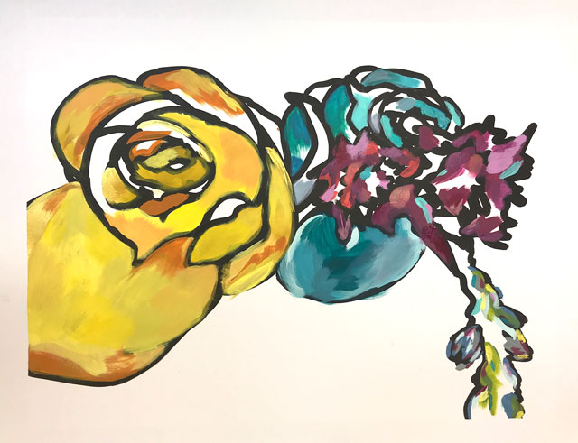 Gestural Winter Blooms