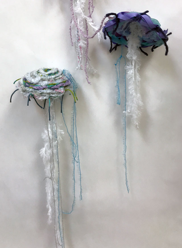 Jellyfish Weaving Project for Kids