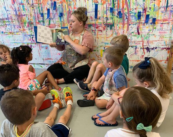 Storytime + Art Class