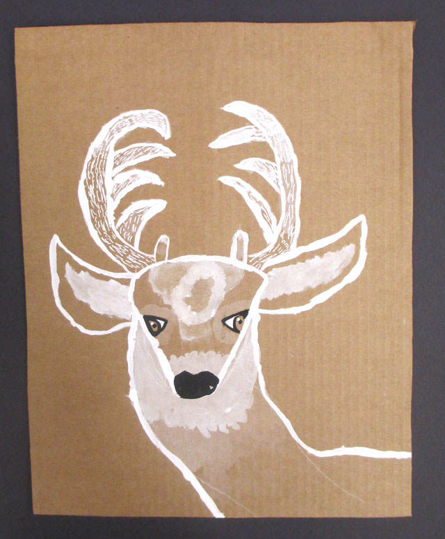 monochromatic deer