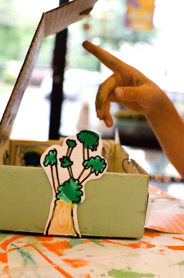 Dream World - Coronavirus Survival Craft from Small Hands Big Art