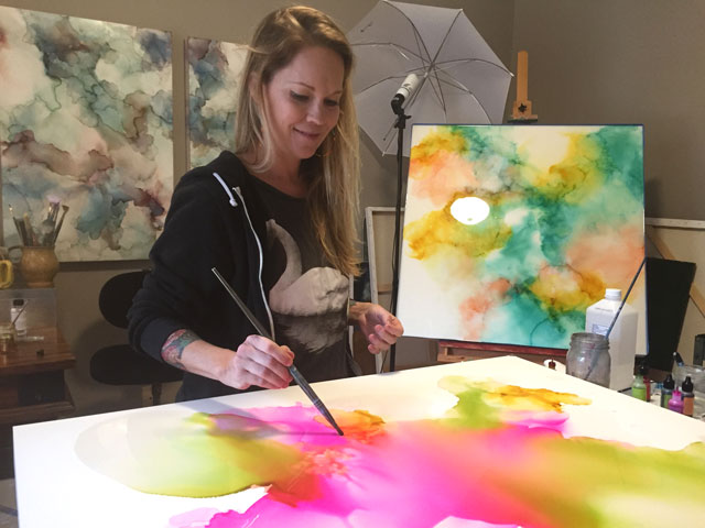Charlotte Artist Amanda Moody / Small Hands Big Art