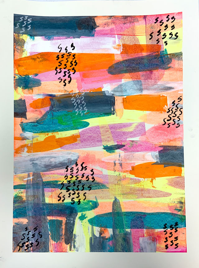 scraper painting