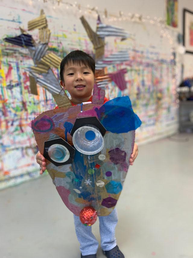 preschool reindeer art project